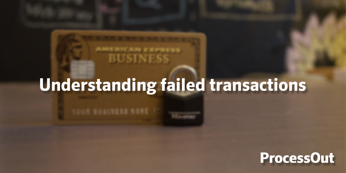 Understand why transactions fail